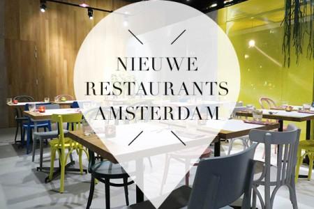 Negen straatjes guide for Nieuwe restaurants amsterdam