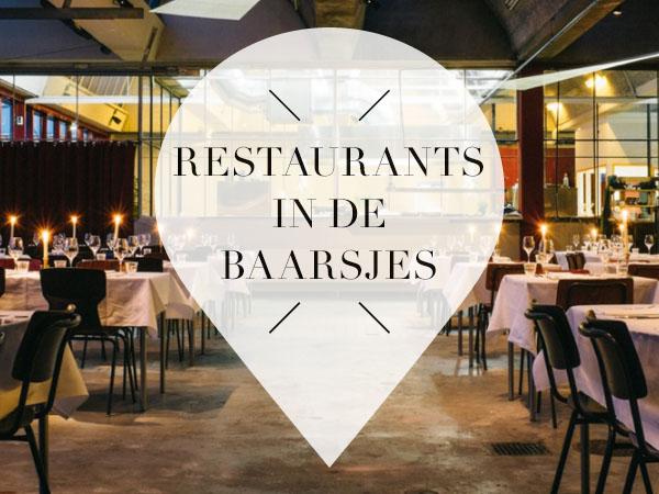 Restaurants in De Baarsjes Amsterdam
