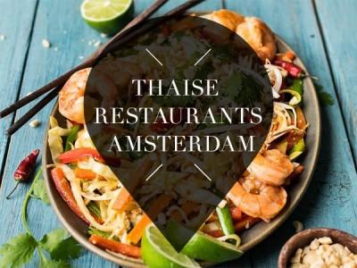 Thaise restaurants in Amsterdam
