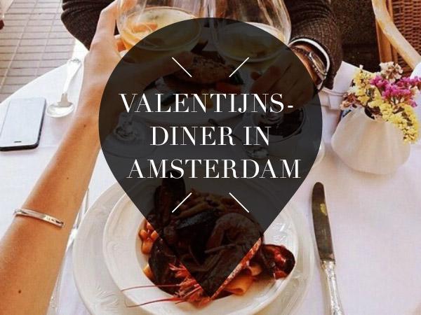 valentijnsdiner in Amsterdam