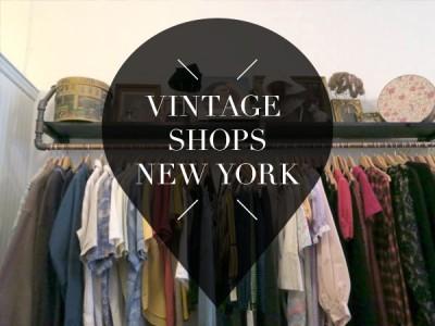 vintage shops in new york