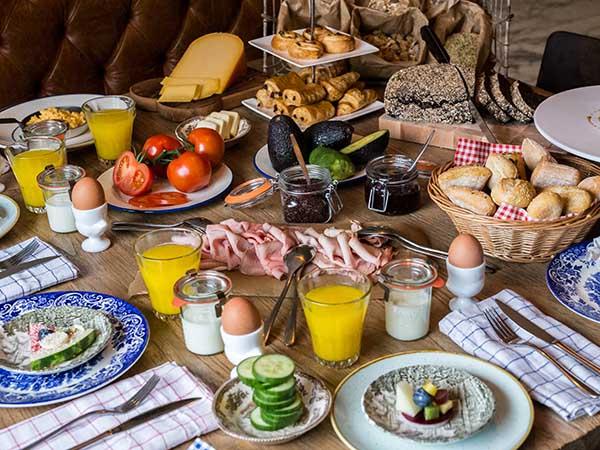 ontbijt vondelpark