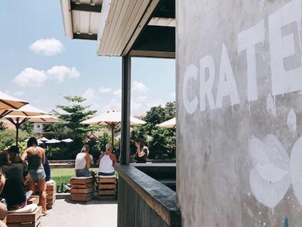 Crate cafe Bali