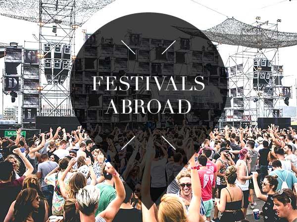 Festivals abroad