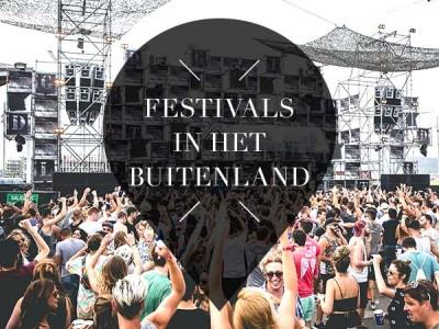 Festivals in het buitenland