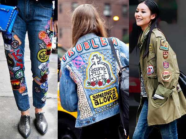 patches fashion trend