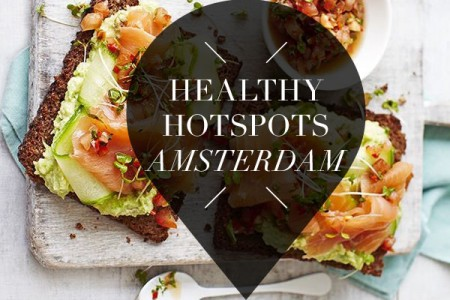 26 x healthy hotspot in Amsterdam