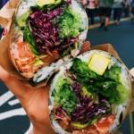 sushi hybrids: sushi burrito
