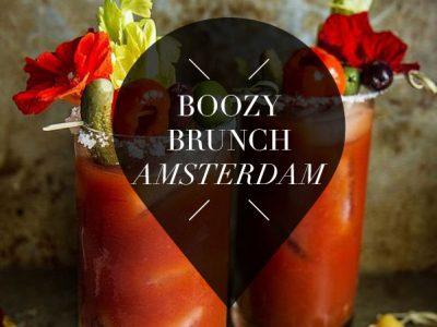 boozy brunch amsterdam