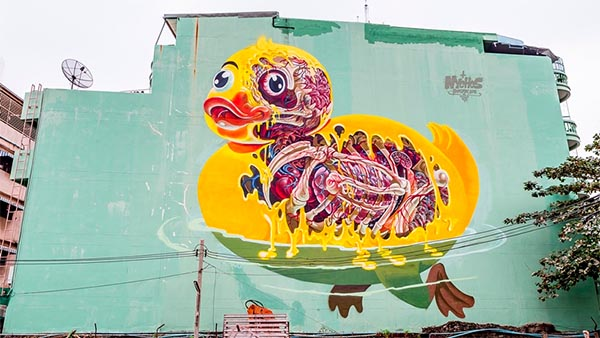 bangkok sreet art