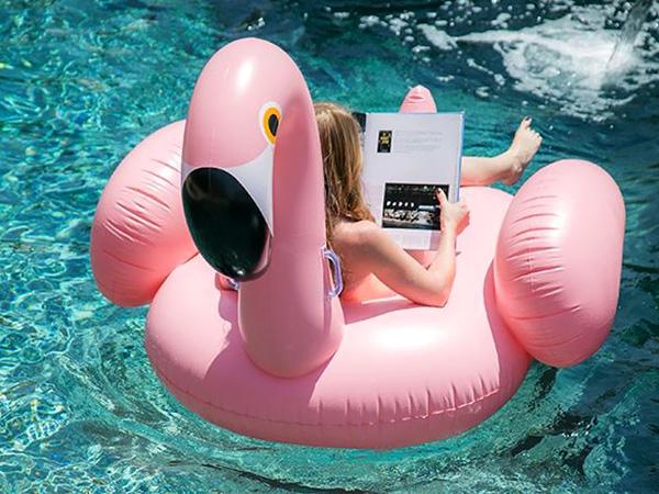 opblaasbare luchtbedden voor in het zwembad, inflatable pool floats