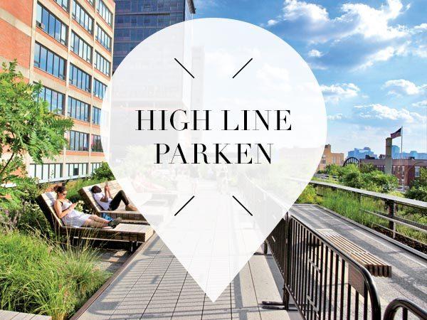 High Line parken