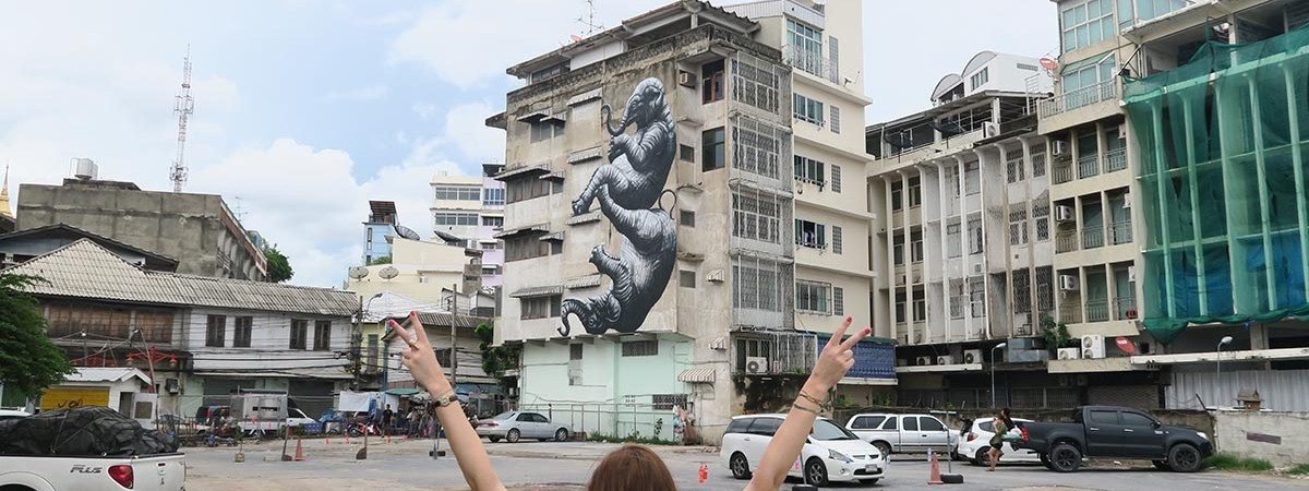 roa bangkok street art location