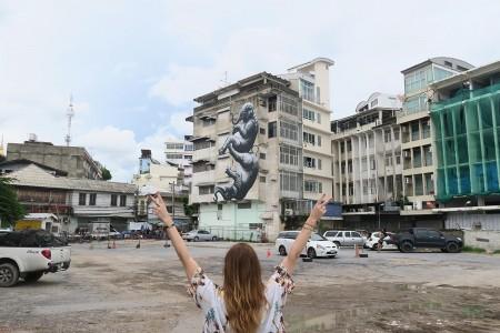 roa bangkok street art location