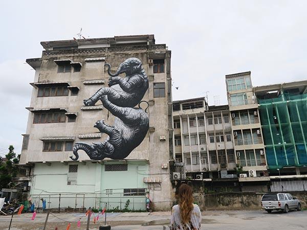 roa sreet art bangkok
