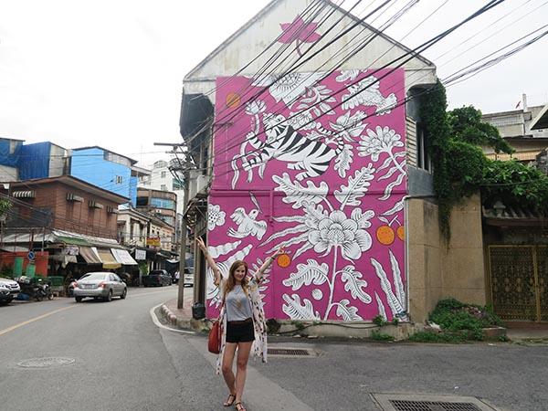 street art bangkok mural