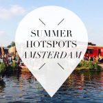 summer hotspots in amsterdam