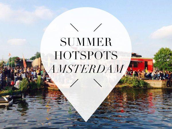 summer hotspots in amsterdam
