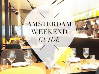 amsterdam weekend guide voor 2, 3 en 4 september