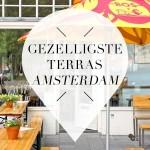 Gezelligste terras Amsterdam