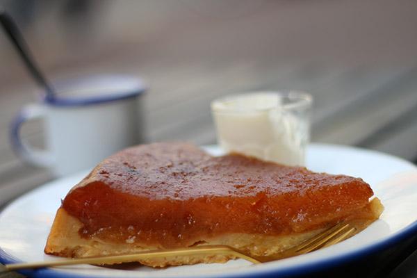 Restaurant Cocotte Amsterdam cake