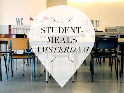 student meals in amsterdam