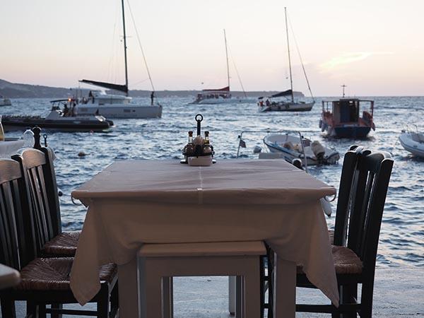 Dimitris Hammoudi Bay Santorini