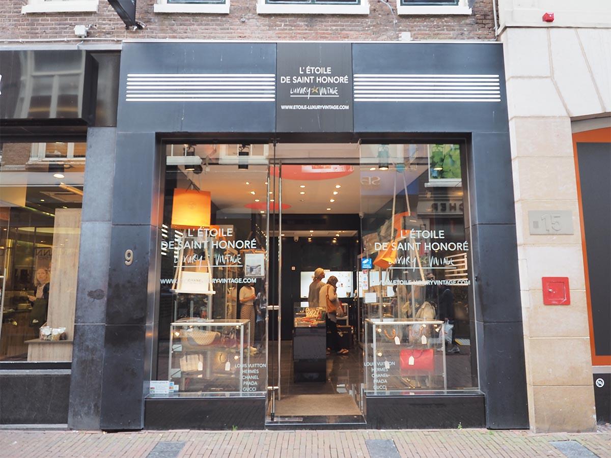 c7c902f330c5 L  ÉTOILE DE SAINT HONORÉ   Heiligeweg AMSTERDAM  vintage designer spot in  hartje centrum