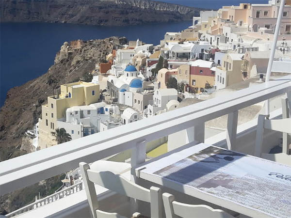 Pelekanos Oia Santorini Griekenland