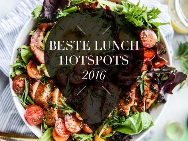beste lunch hotspots van 2016