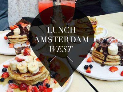 lunch in amsterdam west pointer