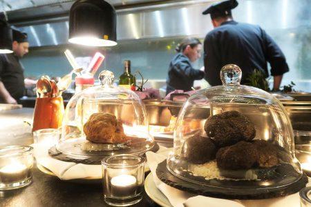 Truffel menu 5&33 Amsterdam