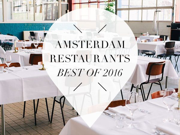 best amsterdam restaurants