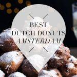 dutch donuts in amsterdam