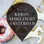 kerstafdelingen in amsterdam