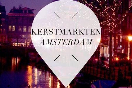 kerstmarkten in amsterdam