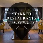 michelin starred restaurants in amsterdam