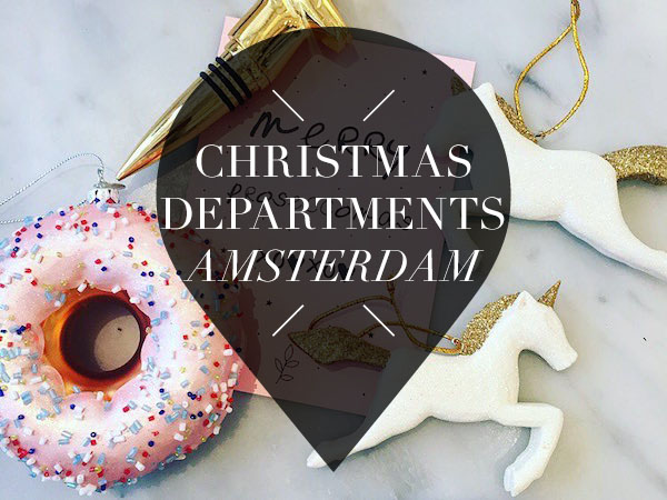 christmas departments in amsterdam