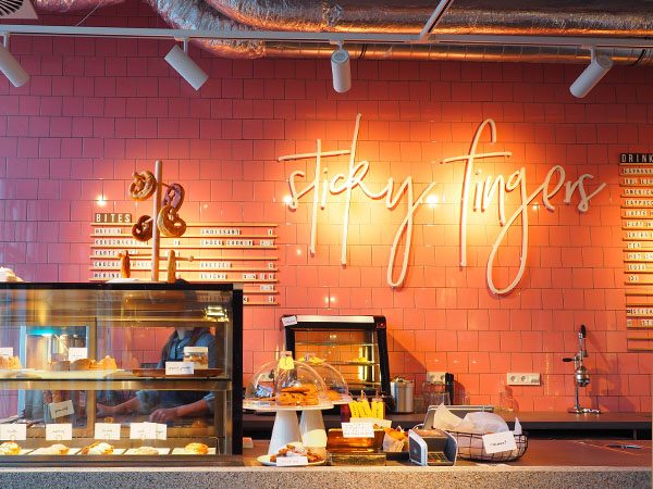 Sticky fingers amsterdam