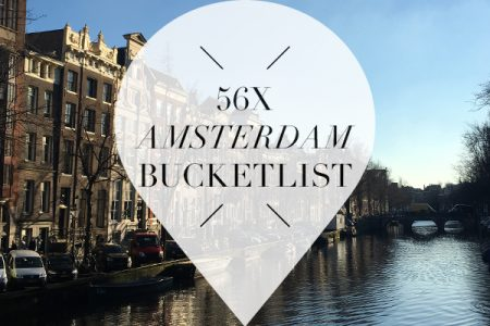 Amsterdam bucketlist