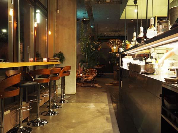 Bar Sue Amsterdam keuken