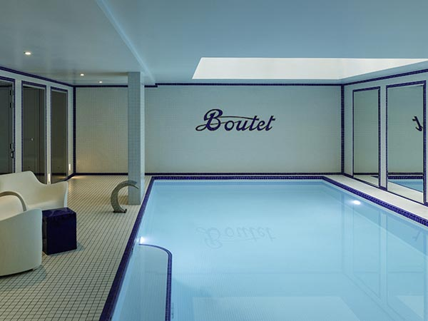 Hotel Boutet Paris pool