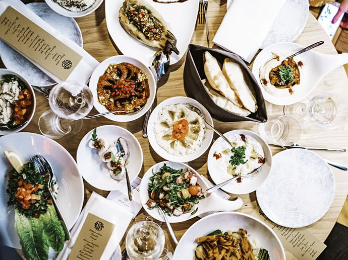 Mezzes bij libanees restaurant fenicie amsterdam