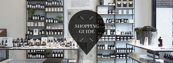 Weekend guide shopping