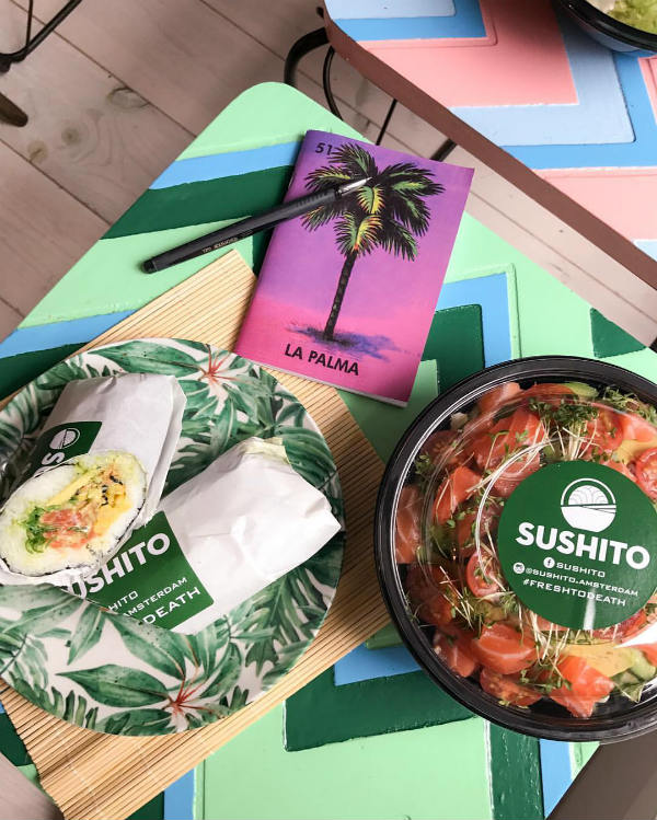 sushi bezorgen amsterdam