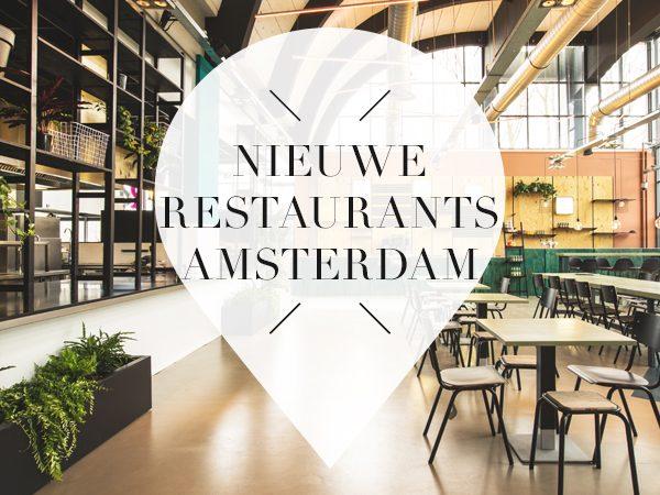 7 x nieuwe restaurants in amsterdam your little black book for Nieuwe restaurants amsterdam