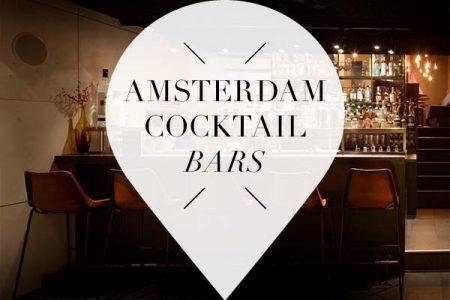 Amsterdam Cocktail bars