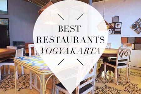 Best restaurants Yogyakarta