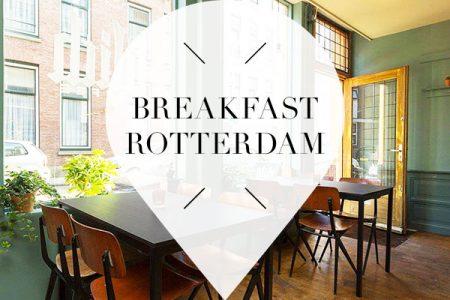 breakfast in rotterdam