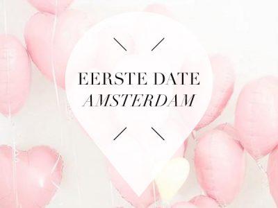 eerste date in amsterdam
